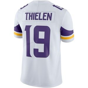 #19 Thielen White Vapor Untouchable Limited Jersey